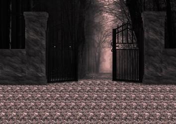 BG Nature Door by suedseeengel