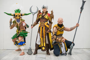 Swedish Diablo III cosplay group by BrakeHeart
