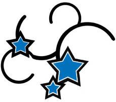 star tattoo by Bleu-Flamme