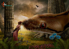 Fairy Tales_Giant Snake - dheean by dheean