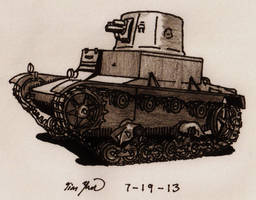 Vickers 6-Ton Type B by TimSlorsky