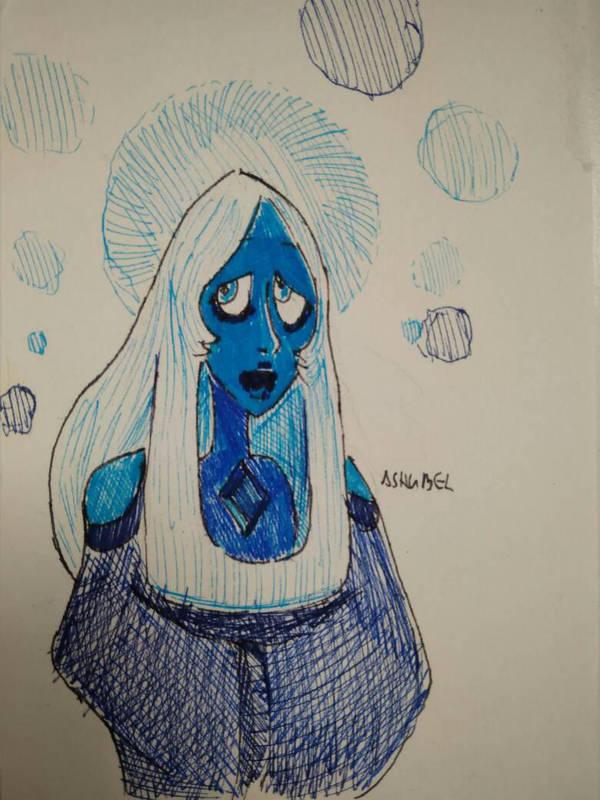 Holy Merry Blue Diamond by Ashubel