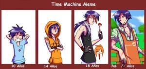 Time machine meme by iluxsio