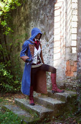 Arno Cosplay - A moment of rest by uhavethekey