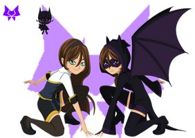 April Channelle, Alucard and Shadowclaw by ITZELDRAG108
