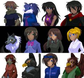 Video Game Cast by Ledah