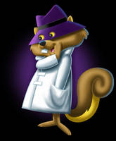 Secret Squirrel by brant5studios