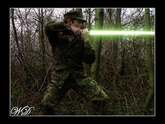 Jedi Soldier Will '09 by WillFactorMedia