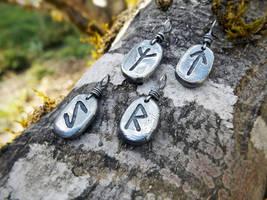 Rune Pendants by QuintessentialArts