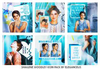 Shailene Woodley Icon Pack by eleganceuss