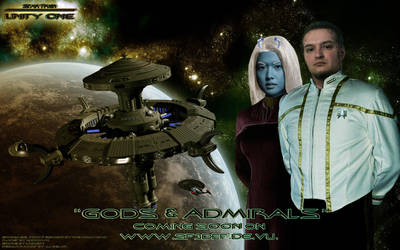 Star Trek: Unity One Wallpaper by Joran-Belar