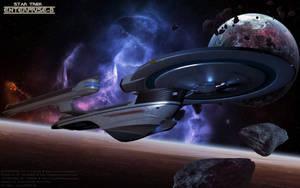 The Enterprise by Joran-Belar