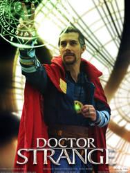 Doctor Strange Cosplay Poster by Joran-Belar