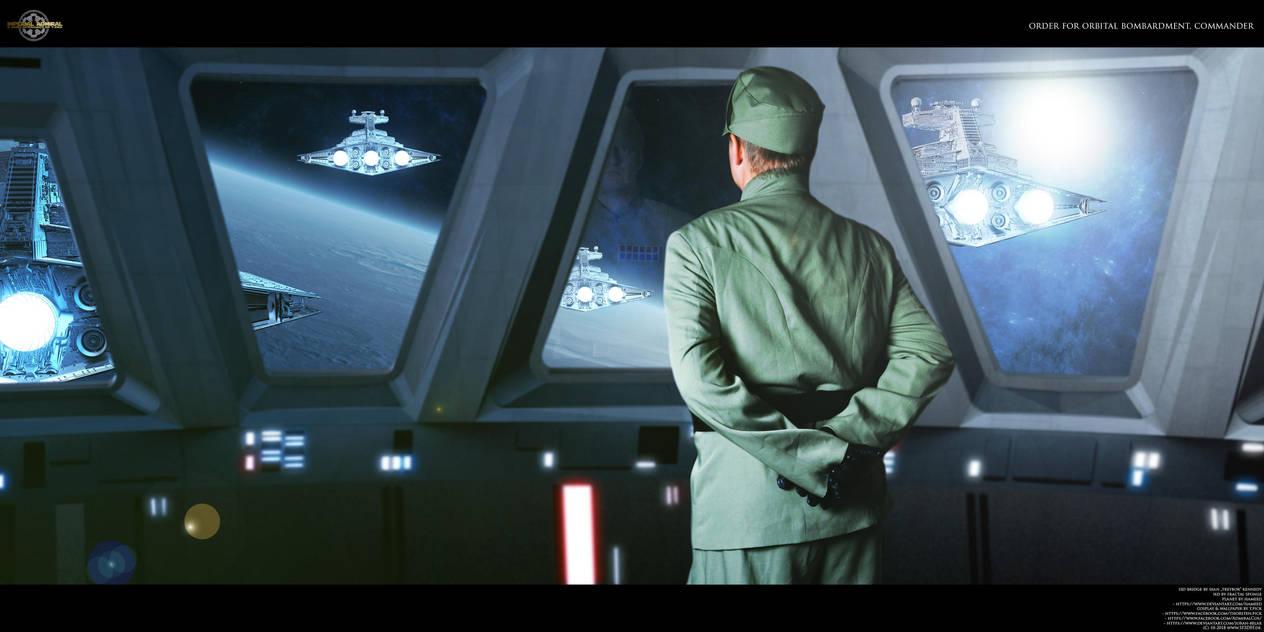 Order for orbital Bombardment, Commander by Joran-Belar