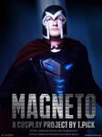 Magneto Cosplay Poster_2 by Joran-Belar