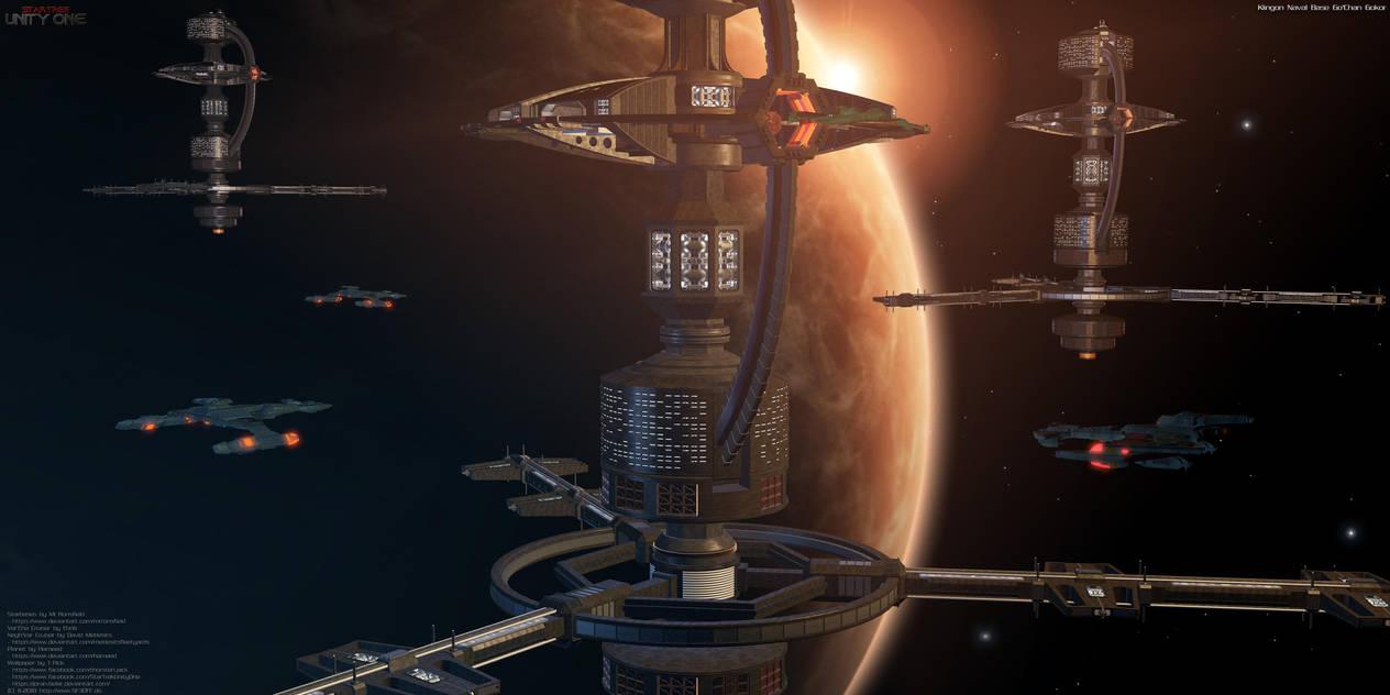 Klingon Naval Base Go'Chan Gokor by Joran-Belar