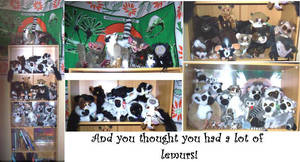 My Lemur Collection by lemurkat