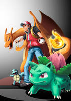 SSBCollab - Pokemon Trainer by URyousuke