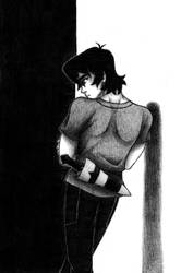 Voltron - Black and White by GwydionAE