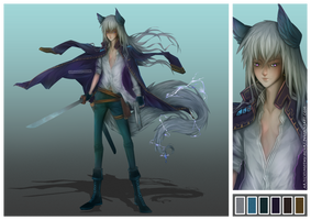 (CLOSED) - Lightning Pirate Adoptable Auction #032 by Timothy-Henri