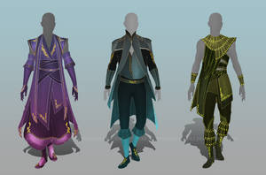 (CLOSED) - Male Outfit Adoptable Set #007 by Timothy-Henri