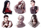 The Evil Within | Stickers by CatrineNice