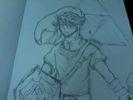 sketch: Link by LordSpade