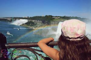 Following a Rainbow.. by Ahlawiyya