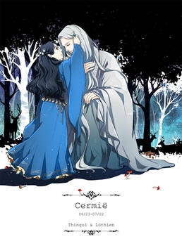 Daughters - Thingol and Luthien by akato3