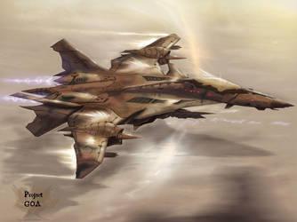 GOA Jet Concept Work Version2 by SkyerFox