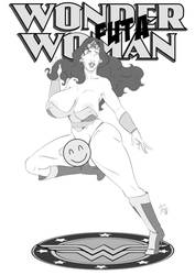 Wonder Futa Woman 01 by DoctorDominion