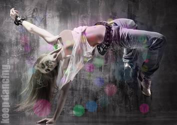 dance girl by alexanderkx