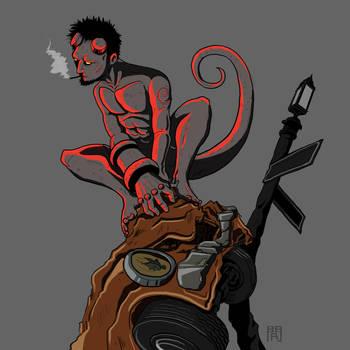 Hell Boy by HARARTIGAN