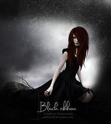 Black ribbon by Cornelie20