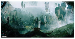Avatar Pandora Concept Art by Dylan-Kowalski