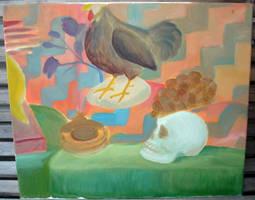 Still Life Oil Painting -1- by SeltzerAddict