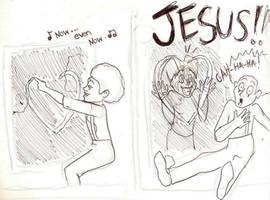 I Scare Jesus by SeltzerAddict