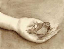 Bird in Hand by SeltzerAddict