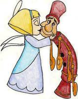 Angelique and Fife Valentine by SeltzerAddict