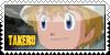 Takaishi Takeru Zero Two Stamp by JubiaMaJo