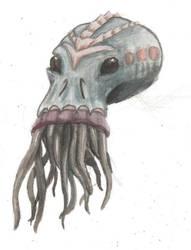 Lovecraft Portrait by Revlid