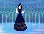 Agatha of Woods Beyond (Snow Ball gown) by CosmoFan47