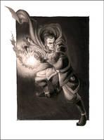 ANGRY GUY FROM BALD KID CARTOON II by heysawbones