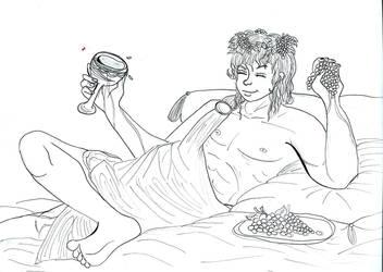 Dionysus WIP by hannamaia