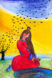 Zutara week day 1: ::Melancholy:: by hannamaia