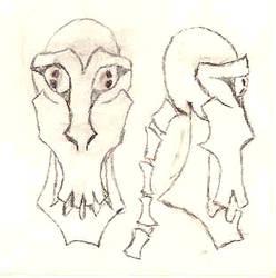 SdJ 20071224: Skull-like thing by archaemic