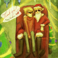 So lil boy, what do you want for Christmas? by affectionateTea