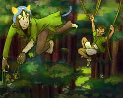 Jungle Rush by affectionateTea