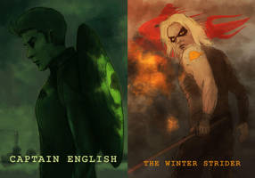 Captian English: The Winter Strider by affectionateTea