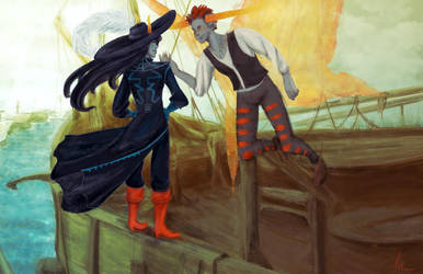 A Pirate's Life for Me by affectionateTea